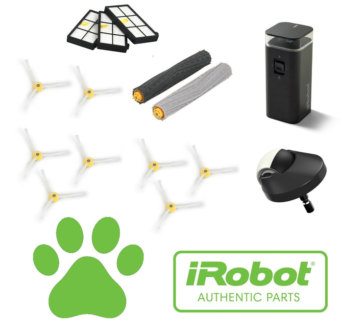 Pet Lovers Service Kit - Authentic iRobot Roomba 900 Series Robotic Vacuum Service Kit