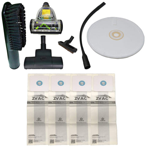 ZVac Compatible Attachment Kit Replacement for Nutone Central Vacuums