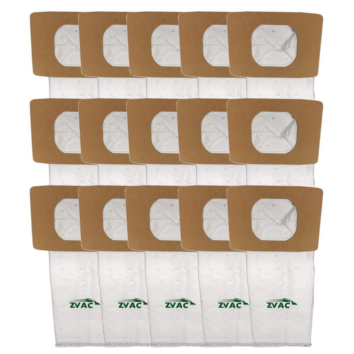 ZVac 15Pk Compatible Vacuum Bags Replacement for Hoover I Vacuum Bags.Replaces Part# AH10005, 985059002.Fits: Lightweight Canister Model UH30010COM