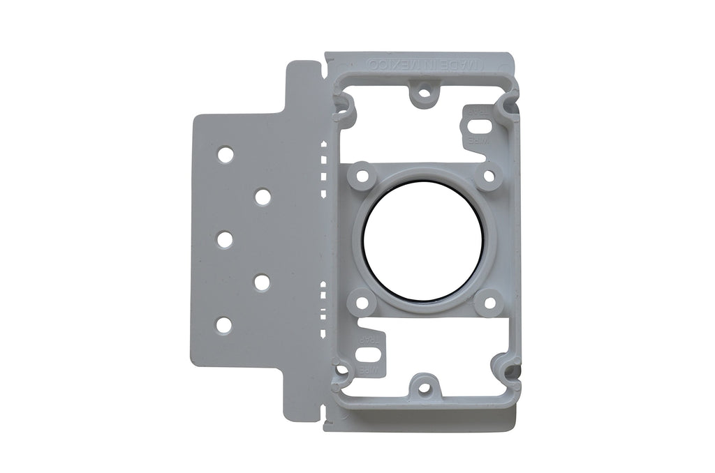 ZVac 10 Pack Central Vacuum Cleaner Inlet Install Mounting Bracket/Central Vacuum Wall Plate Backing Compatible for All Central Vacuum Systems