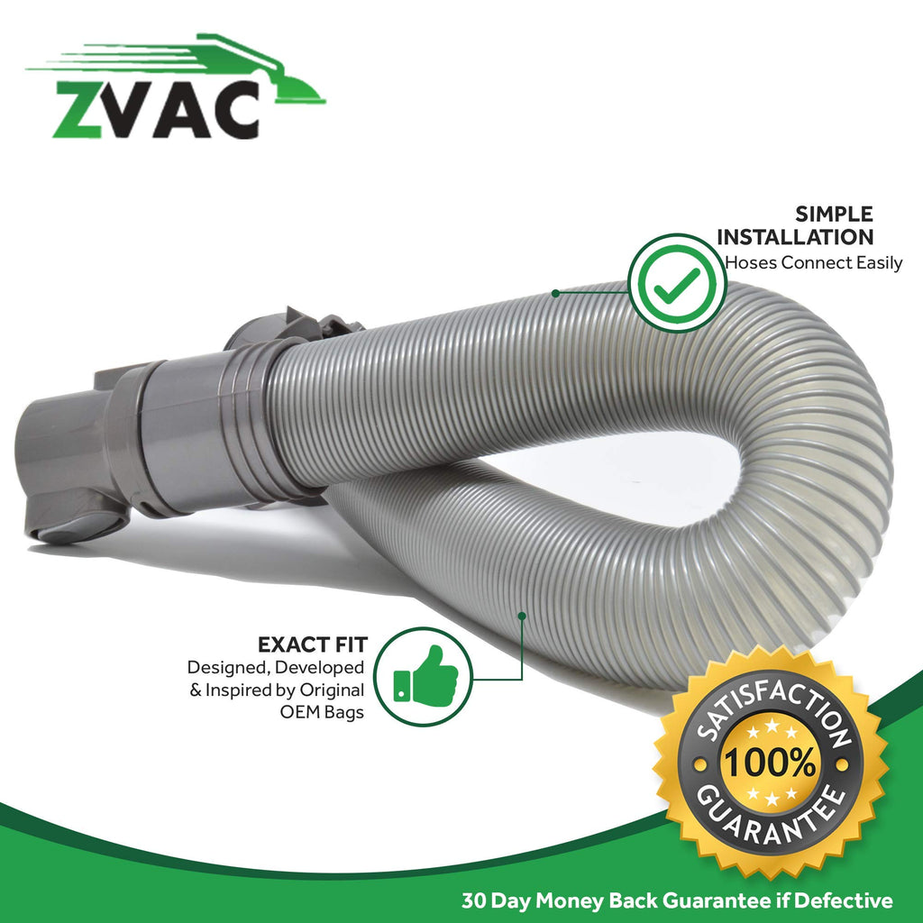 ZVac Generic Hose Assembly Replacement Dyson DC25 Vacuum. Replaces Part# 91567701, 915677-01, 915677-09