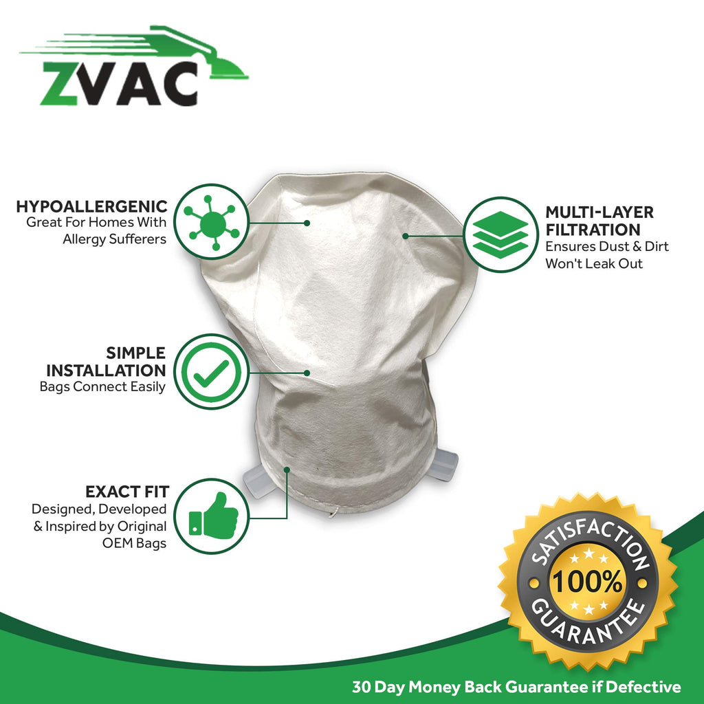 ZVac 2Pk Compatible Filters Replacement for Dirt Devil F4 Filter. Replaces Parts# 3ME1950001, 2ME1950001 Fits: M0896 Quick Power, M0889X Breeze Cordless, M0914 Extreme Power Hand Vacuum