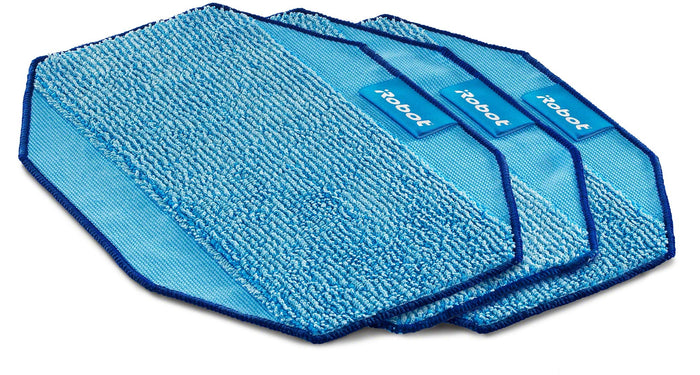 Microfiber 3-Pack, Pro-Clean Mopping Cloths for Braava Floor Mopping Robot