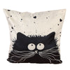 45cm*45cm Cartoon Cat Pillowcase