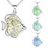 Cute Fish Necklace Glow In the Dark