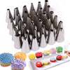 35pcs/Sets Stainless Steel Baking Tips