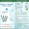 3Pcs Alkaline Water Stick