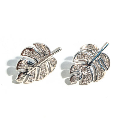 Palm Leaf Dreaming Earrings