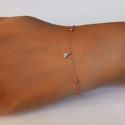 Wearing Shape Shifter Bracelet in Gold