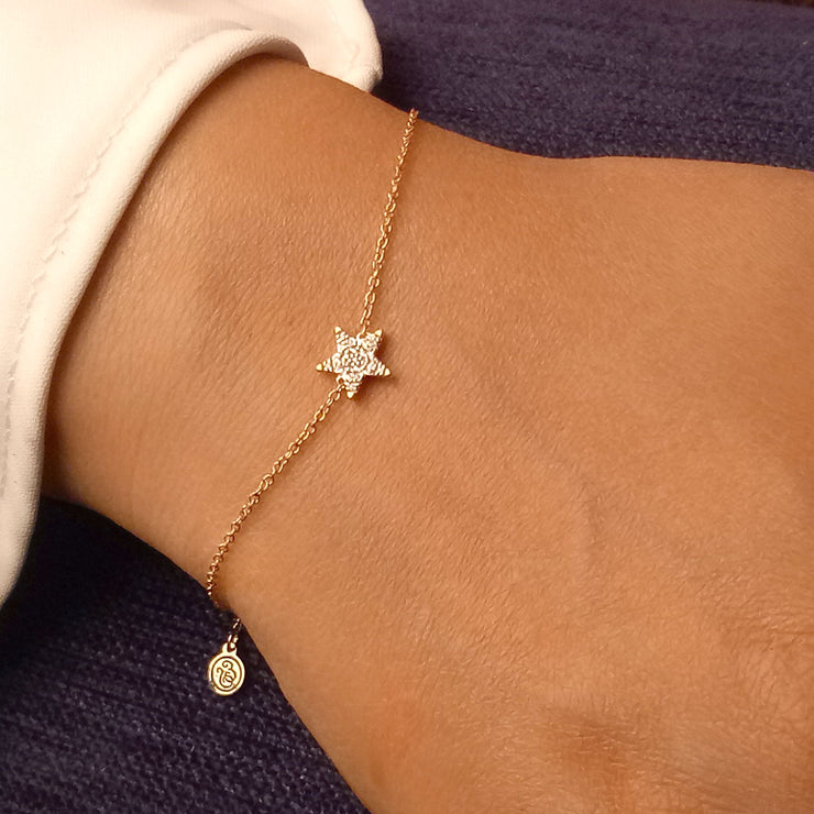 Wearing Reach for the Stars Bracelet