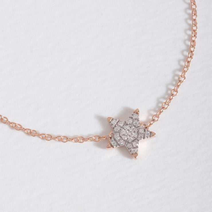 Reach for the Stars Rose Gold Bracelet