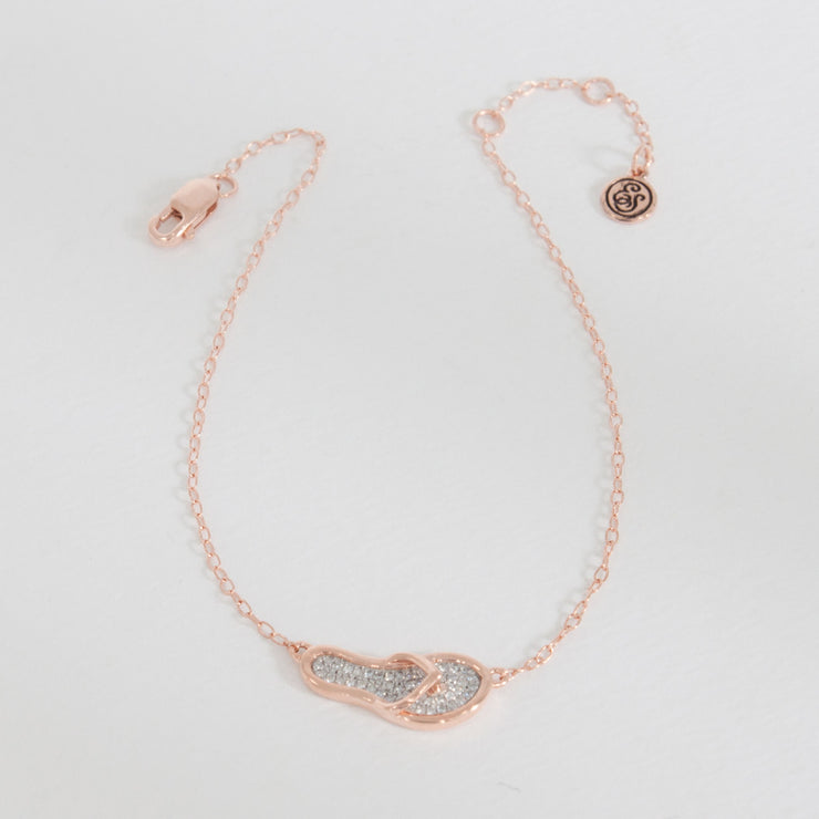 Sand Beneath Your Feet Rose Gold Bracelet