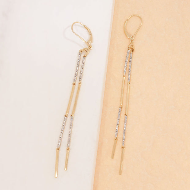 Diamonds and Stripes Earrings