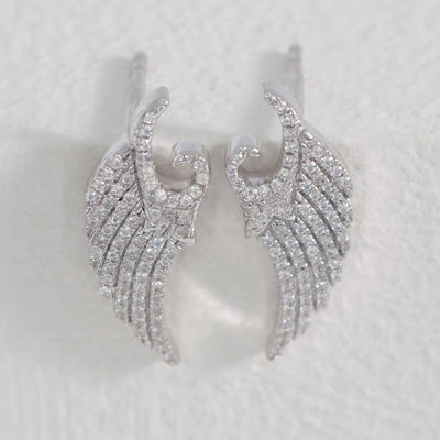 It's a Wing Thing Sterling Silver Stud Earrings
