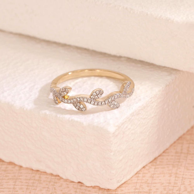 Growing Up Gold and Diamond Ring