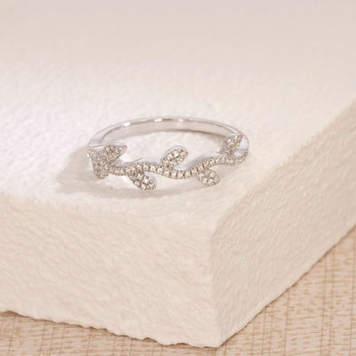 Growing Up Sterling Silver and Diamond Ring