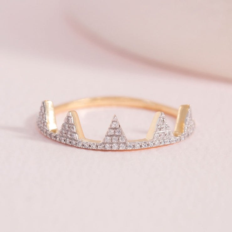 It's Your Crown Gold and Diamond Ring