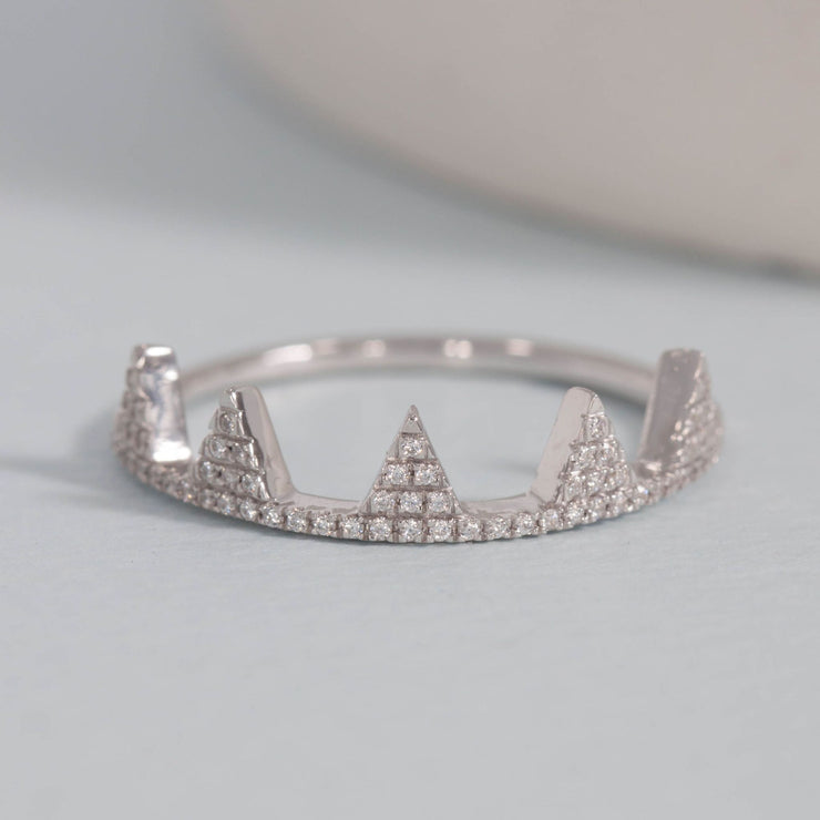 It's Your Crown Sterling Silver and Diamond Ring