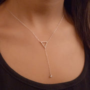 Call Dibs Sterling Silver Necklace