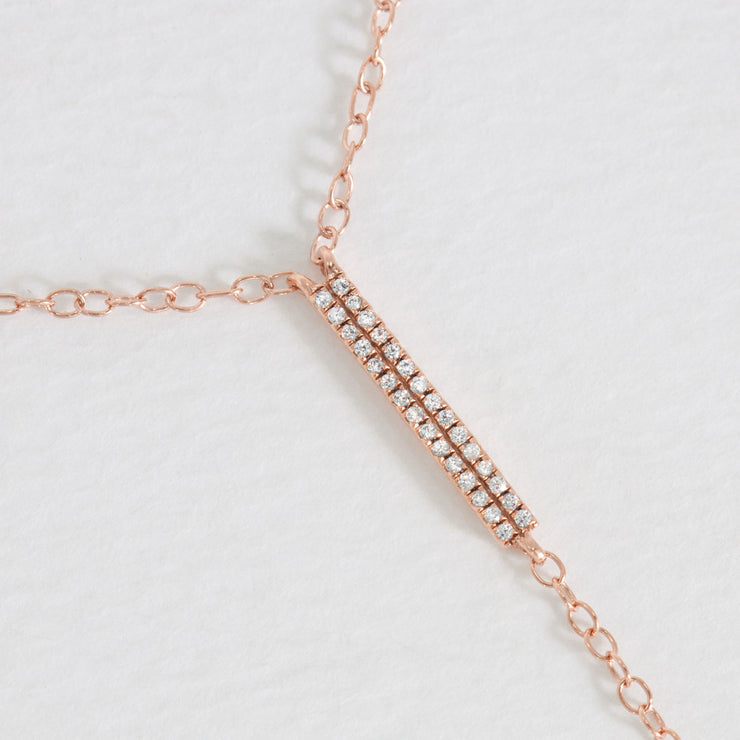 Own the Room Rose Gold Necklace