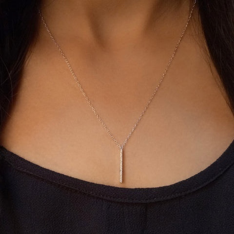 Lariat Lust Gold Pendant Necklace