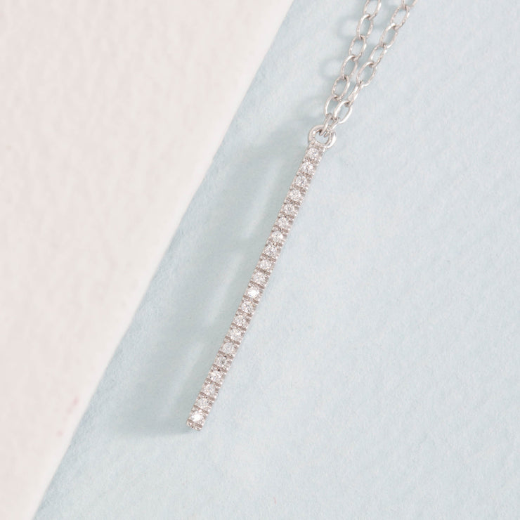 Lariat Lust Necklace in Sterling Silver