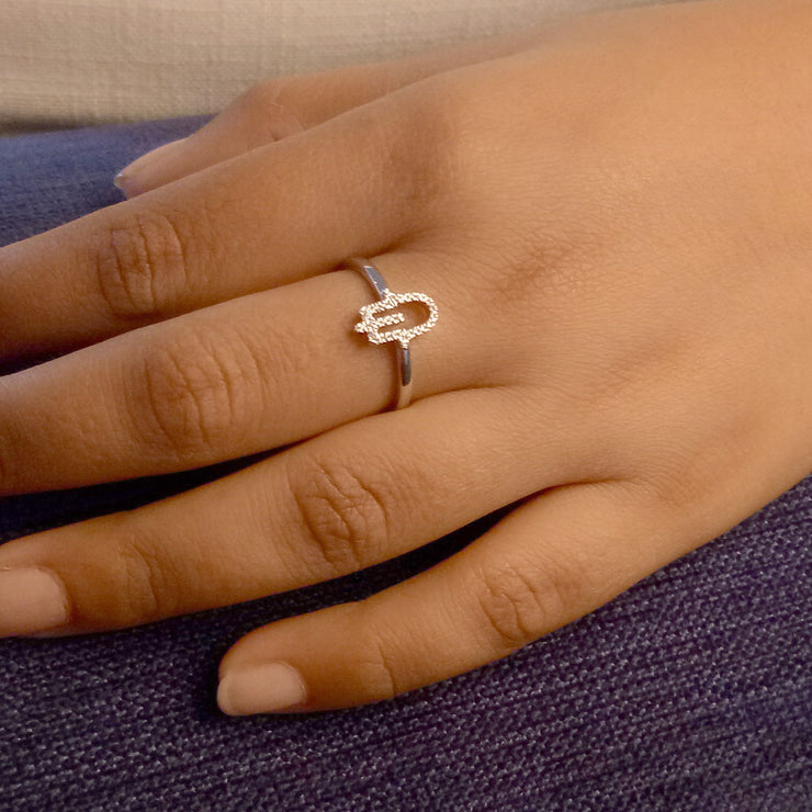 Think Good Thoughts Rose Gold Ring