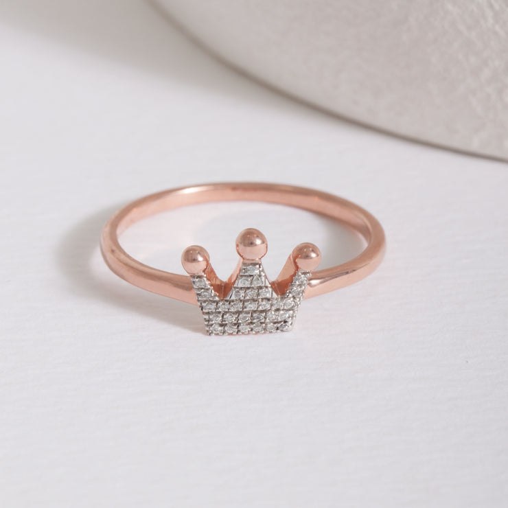 Queen Of All Things Rose Gold Ring