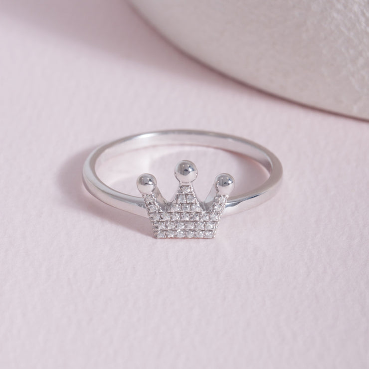 Queen Of All Things Sterling Silver Ring