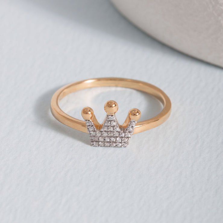Queen Of All Things Gold Ring
