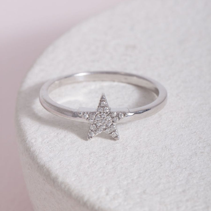 Reach for the Stars Sterling Silver Ring