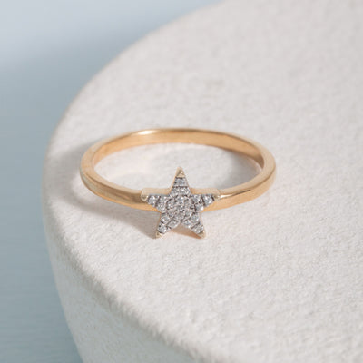 Reach for the Stars Gold Ring