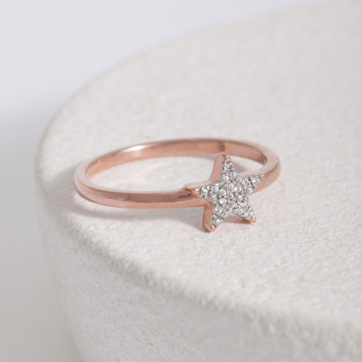 Reach for the Stars Rose Gold Ring
