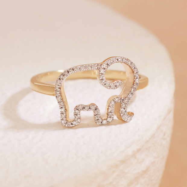 Elephant Mom Ring