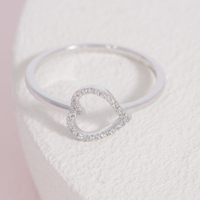 Heart & Soul Sterling Silver Ring