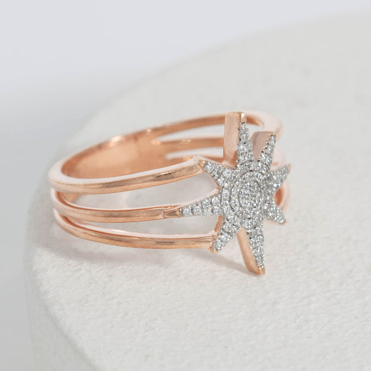 Wish Upon a Star Gold Ring