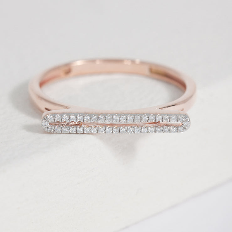 Chill Pill Rose Gold Ring