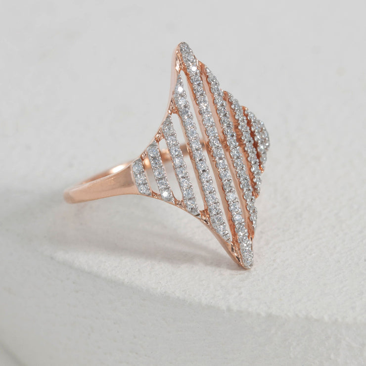 Be Bold Rose Gold Ring