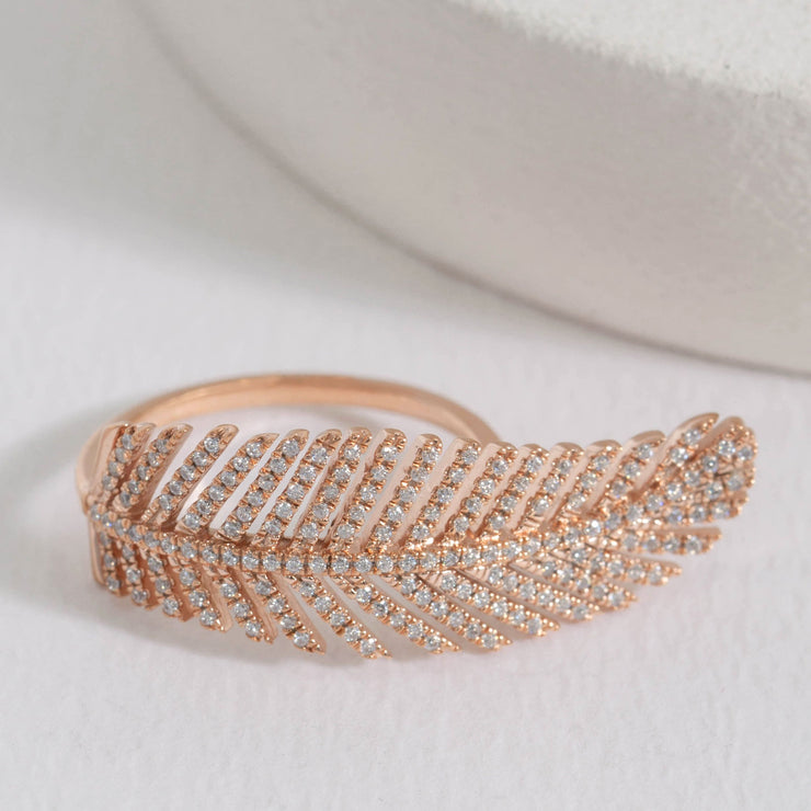 Let It Go Rose Gold Ring
