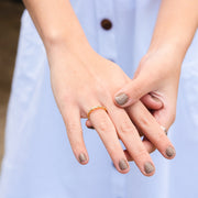 Wearing Soak in the Sea Breeze Ring