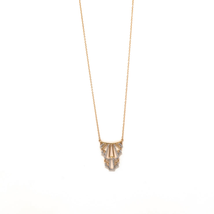 Living Luxe Necklace in Rose Gold