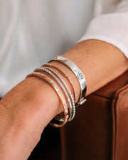 Stacked Cuffs Including You Stud Cuff Bracelet