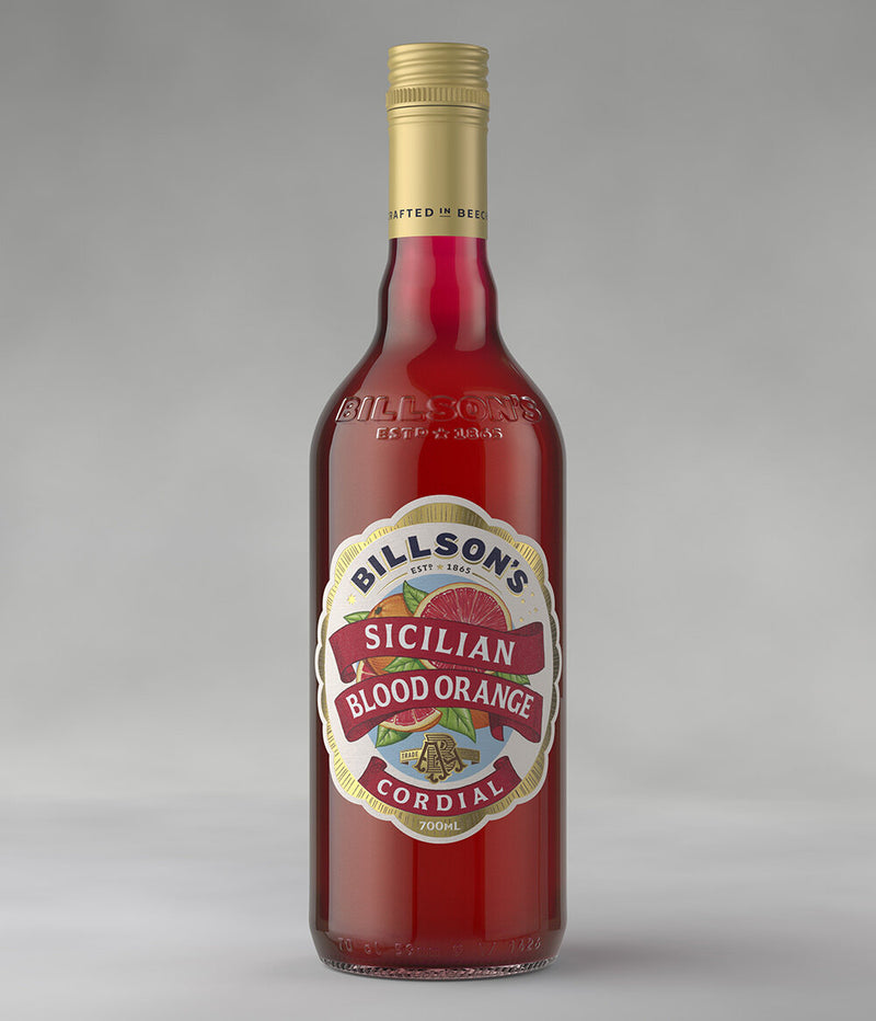 Billson's Sicilian Blood Orange Cordial