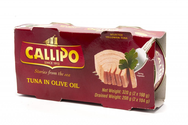 Callipo Tuna in Olive Oil 2 Pack