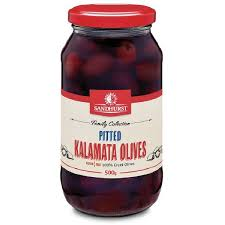 Pitted Kalamata Olives - 500g