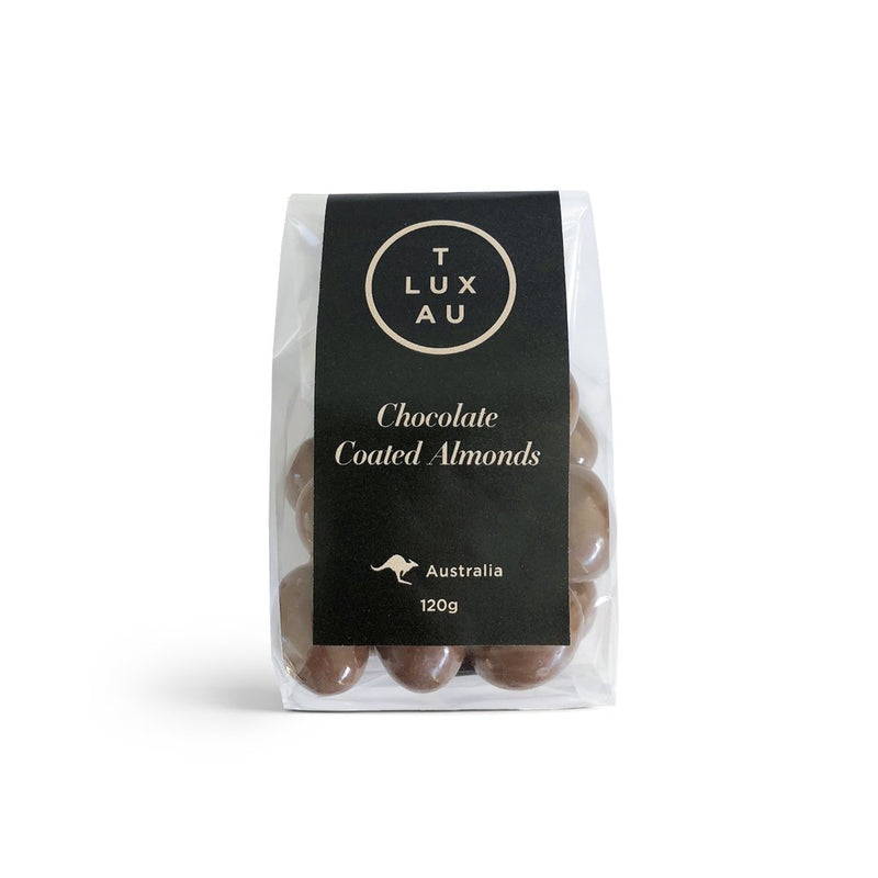 T Lux Au Chocolate coated Almonds 120g