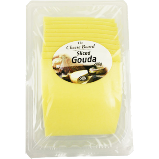 The Cheese Board Sliced Gouda 200g