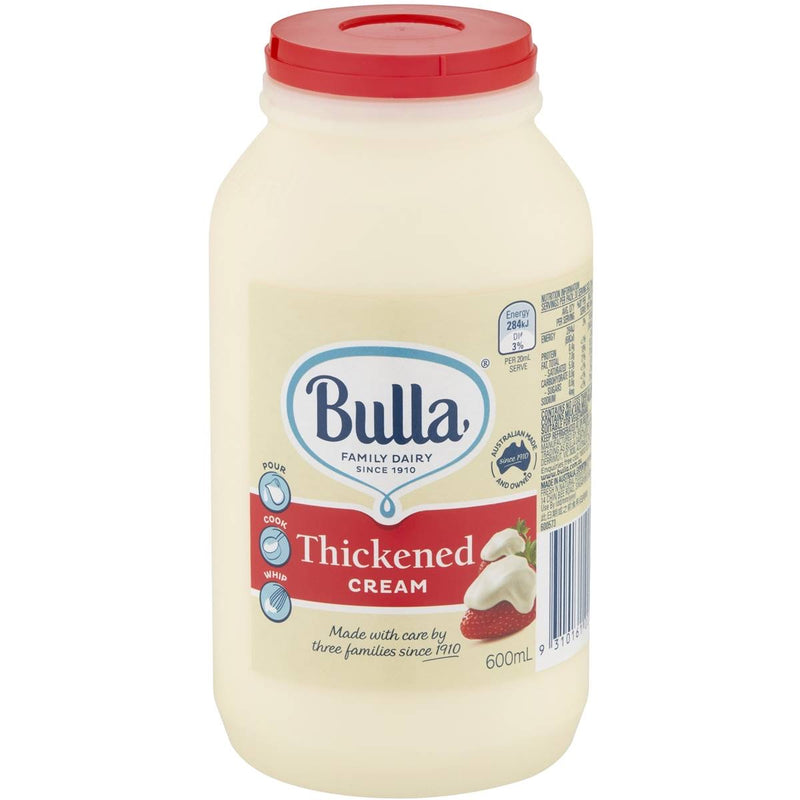 Bulla Thickened Cream 600ml