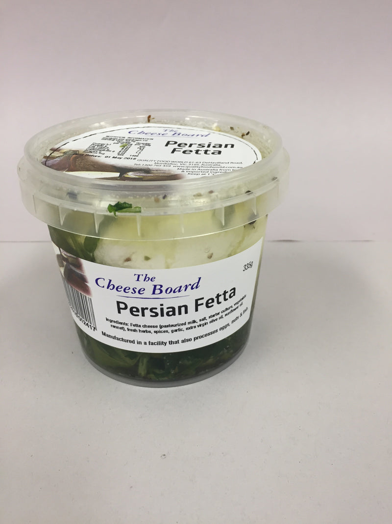 Persian Fetta - Marinated