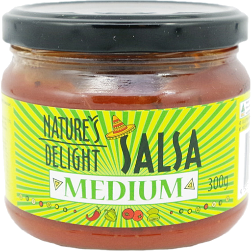 Nature's Delight Medium Salsa 300g